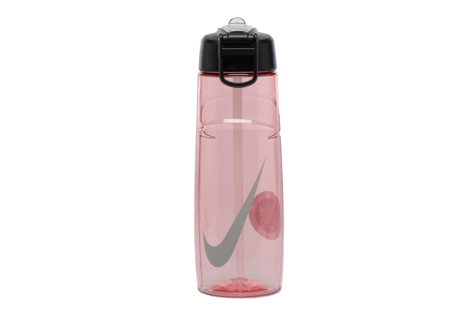 Miscellaneous Nike T1 FLOW SWOOSH WATER BOTTLE 24oz Pink detailed view/ Pair view