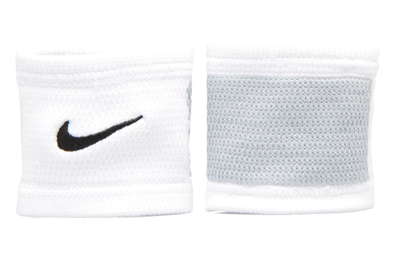 Guantes Nike DRI-FIT STEALTH WRISTBANDS Blanco vista de detalle / par