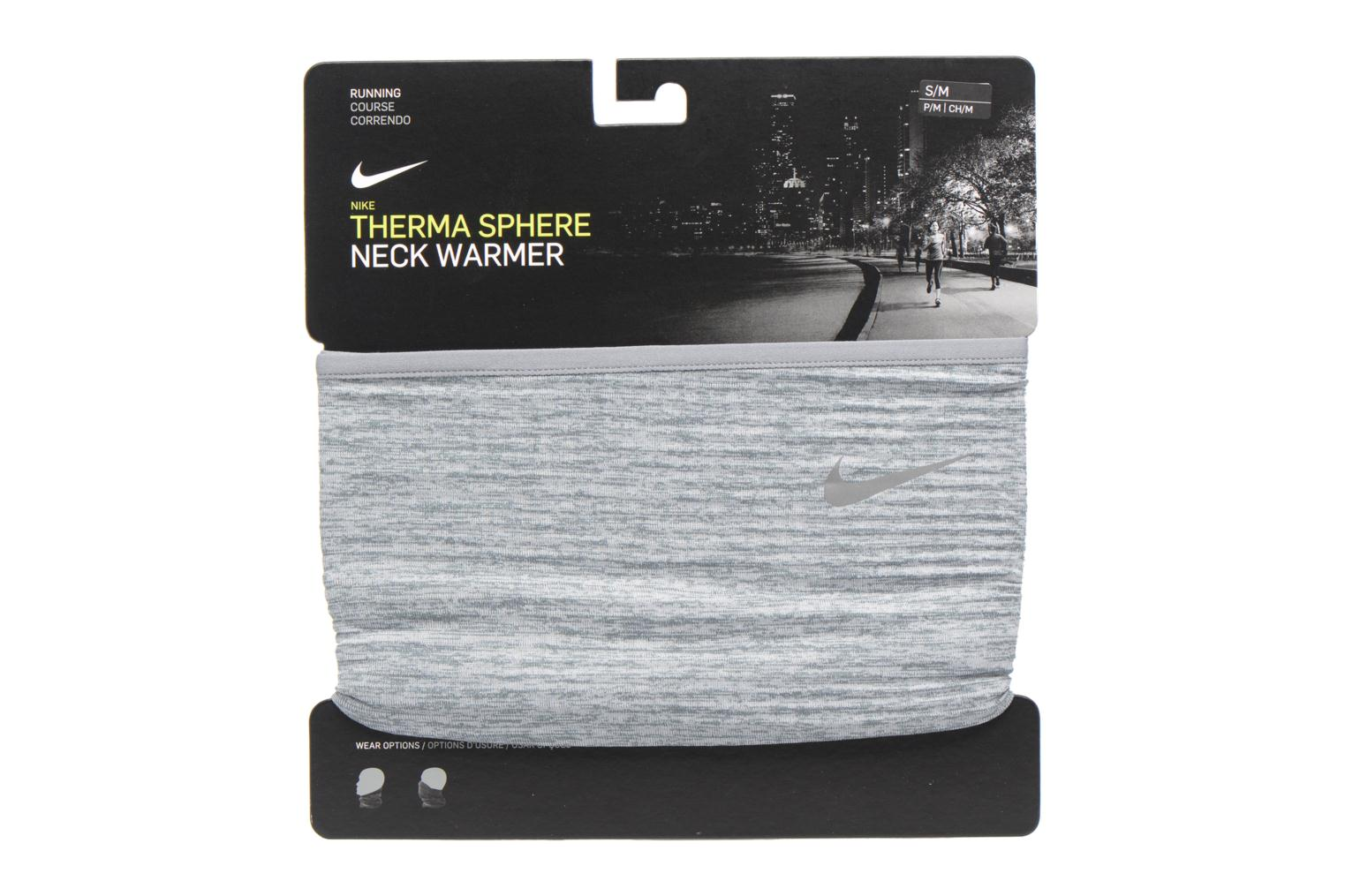 Echarpes et Foulards Nike NIKE RUN THERMA SPHERE NECK WARMER Gris vue détail/paire