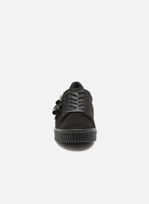 Baskets Molly Bracken Black Flowers Noir vue portées chaussures