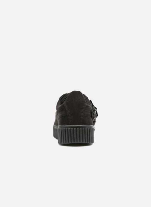 Sneakers Molly Bracken Black Flowers Zwart rechts