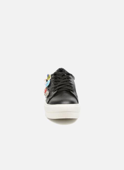 Baskets Molly Bracken Flower Sneakers Noir vue portées chaussures
