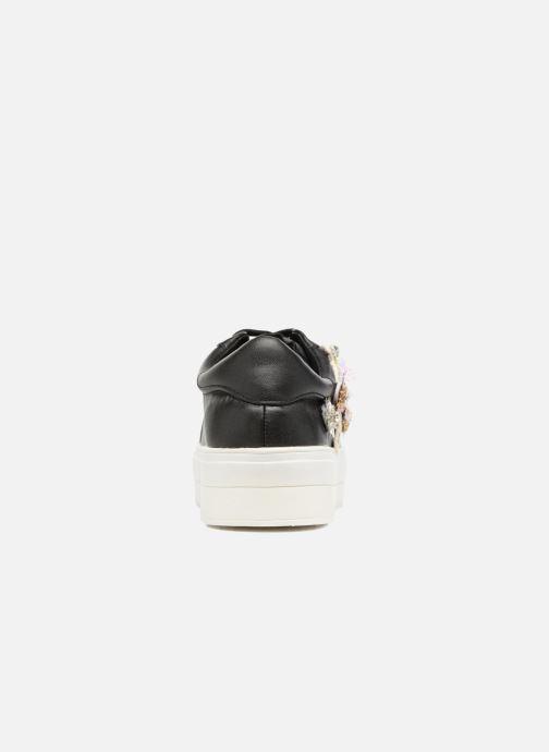 Baskets Molly Bracken Flower Sneakers Noir vue droite