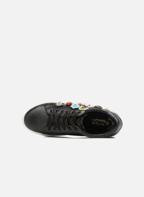 Sneaker Molly Bracken Flower Sneakers schwarz ansicht von links