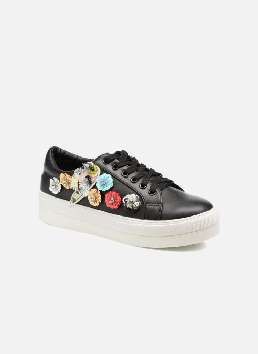 Baskets Molly Bracken Flower Sneakers Noir vue détail/paire