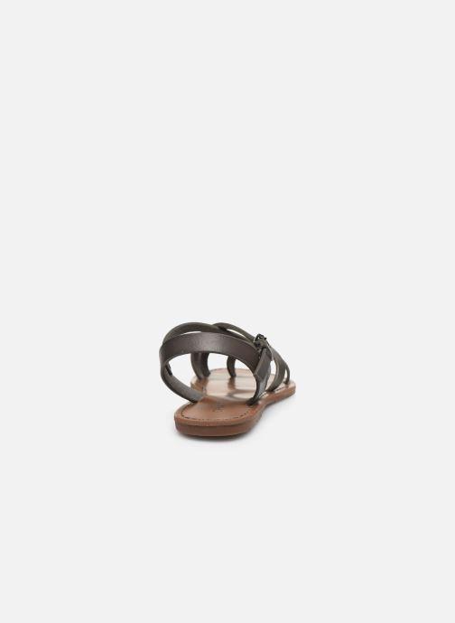 Sandales et nu-pieds Chattawak Margot Gris vue droite