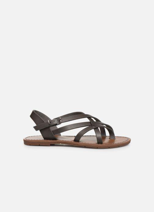 Sandales et nu-pieds Chattawak Margot Gris vue derrière