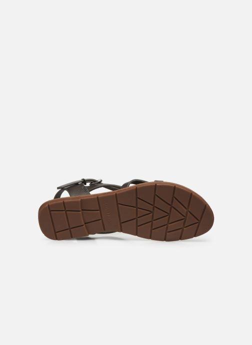 Sandales et nu-pieds Chattawak Margot Gris vue haut