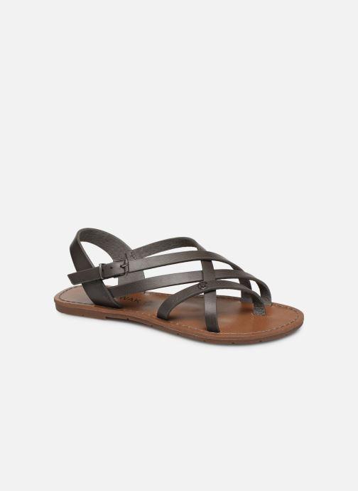 Sandales et nu-pieds Chattawak Margot Gris vue détail/paire