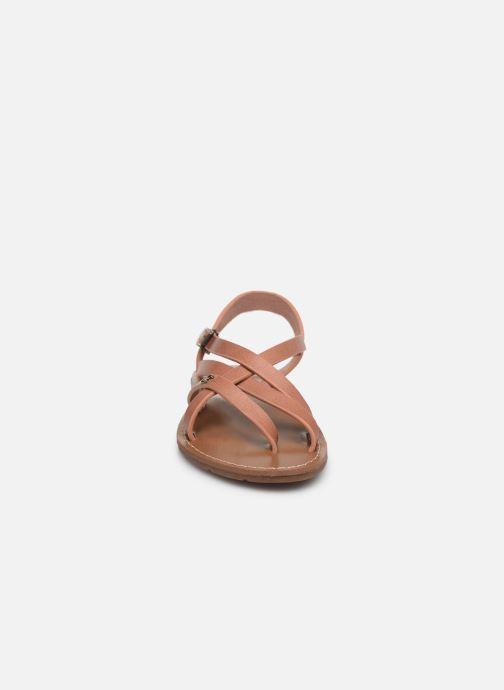 Sandales et nu-pieds Chattawak Margot Rose vue portées chaussures
