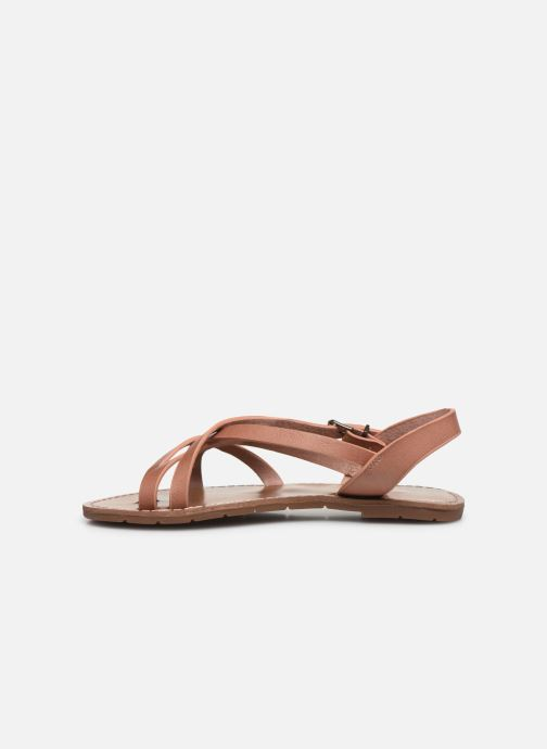 Sandales et nu-pieds Chattawak Margot Rose vue face