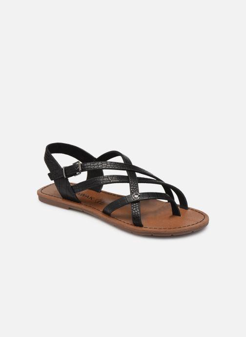 Sandales et nu-pieds Chattawak Margot Noir vue détail/paire