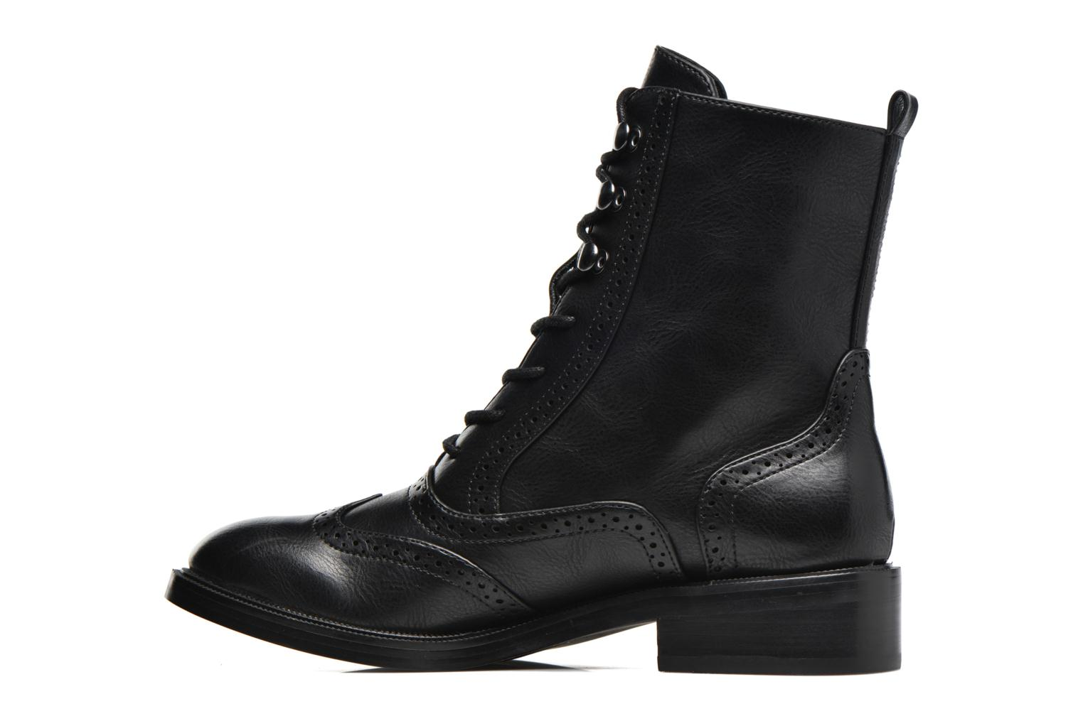 Lace-up shoes Chattawak Marlene Black front view