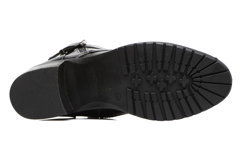 Bottines et boots Chattawak Marion Noir vue haut