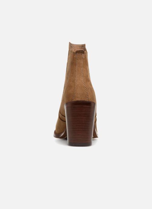 Stiefeletten & Boots Chattawak Laurence braun ansicht von rechts