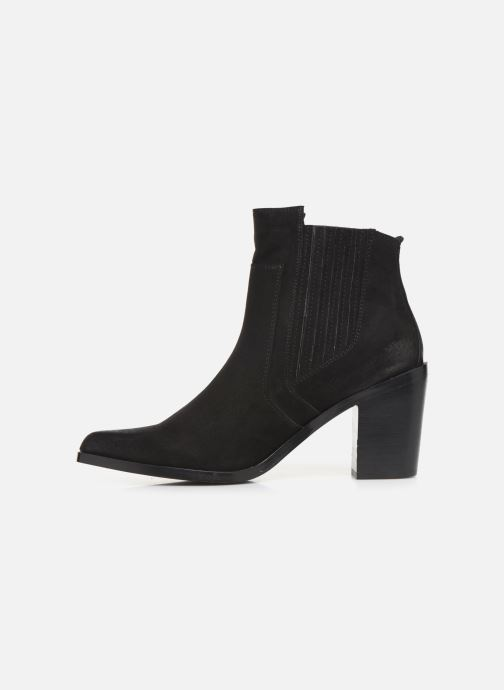 Bottines et boots Chattawak Laurence Noir vue face