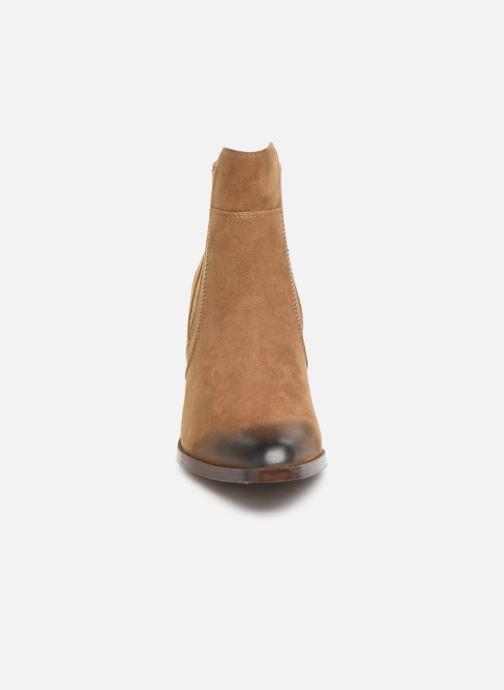 Boots en enkellaarsjes Chattawak Laurence Beige model
