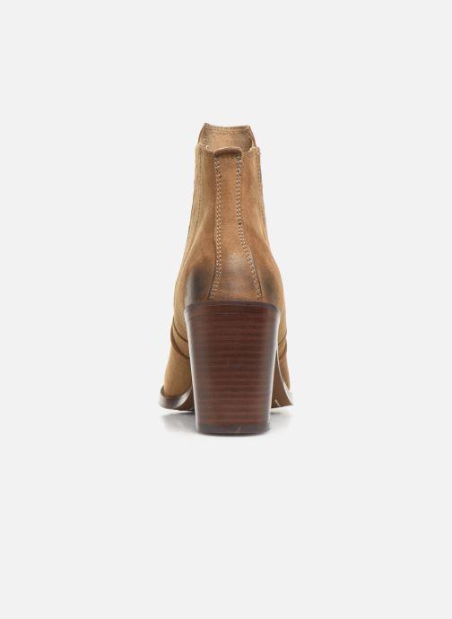 Bottines et boots Chattawak Laurence Beige vue droite