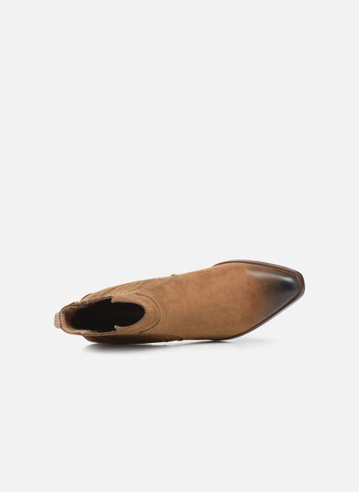 Boots en enkellaarsjes Chattawak Laurence Beige links