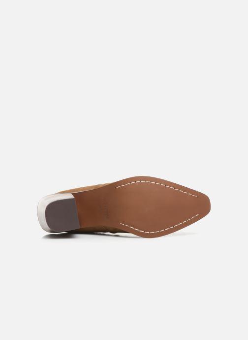 Bottines et boots Chattawak Laurence Beige vue haut
