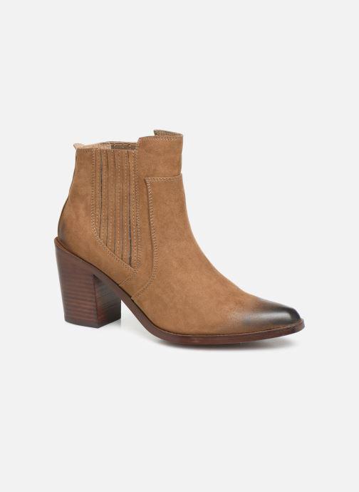 Boots en enkellaarsjes Chattawak Laurence Beige detail