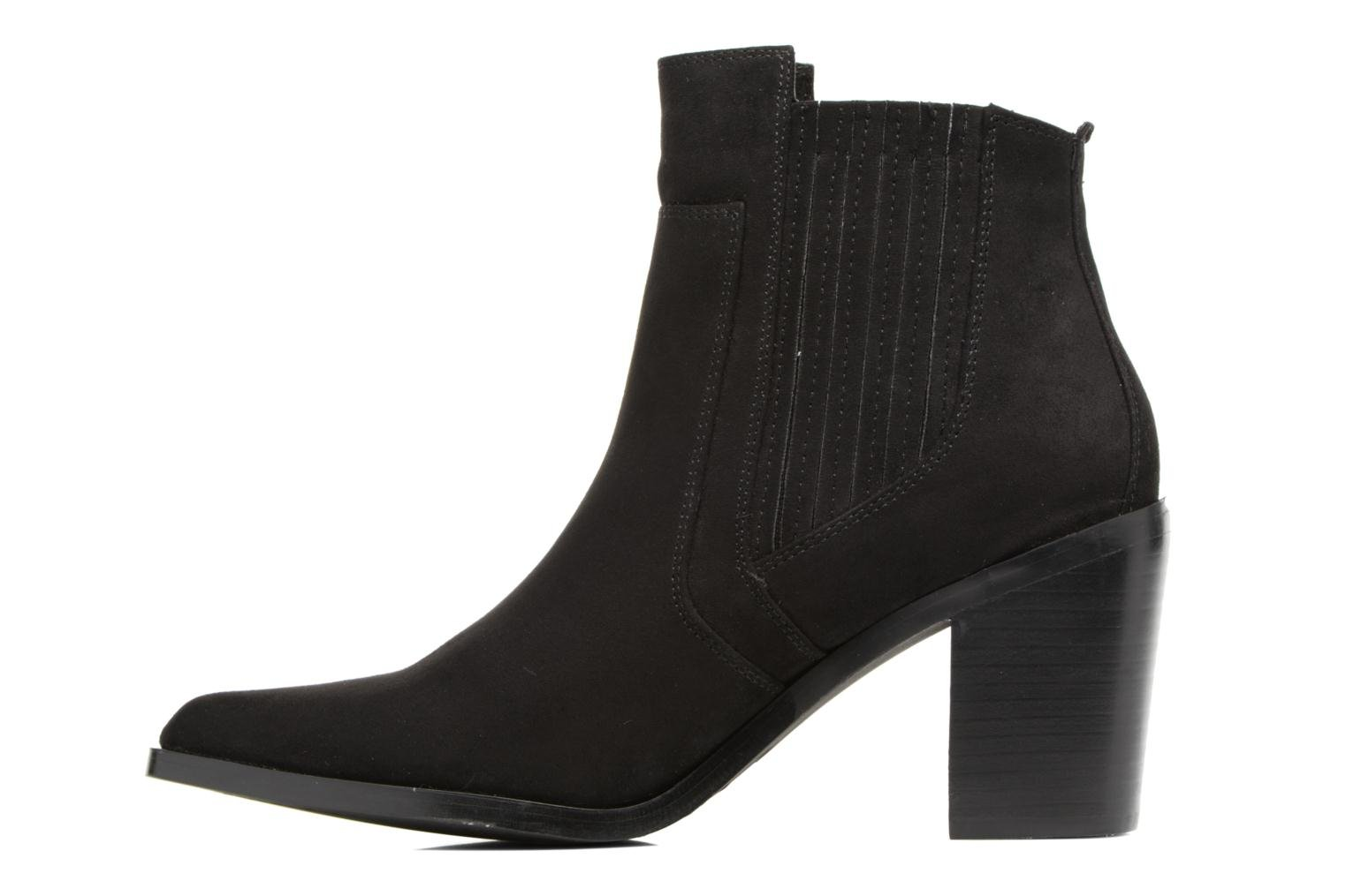 Ankle boots Chattawak Laurence Black front view
