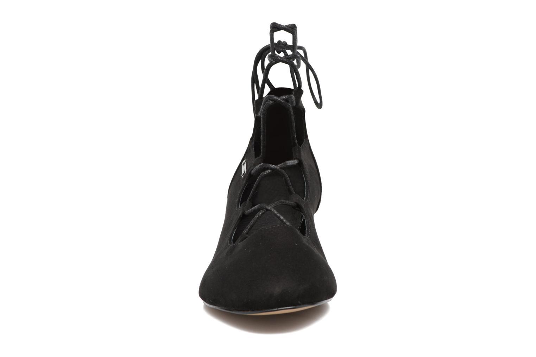 Ballerines Chattawak Jade Noir vue portées chaussures