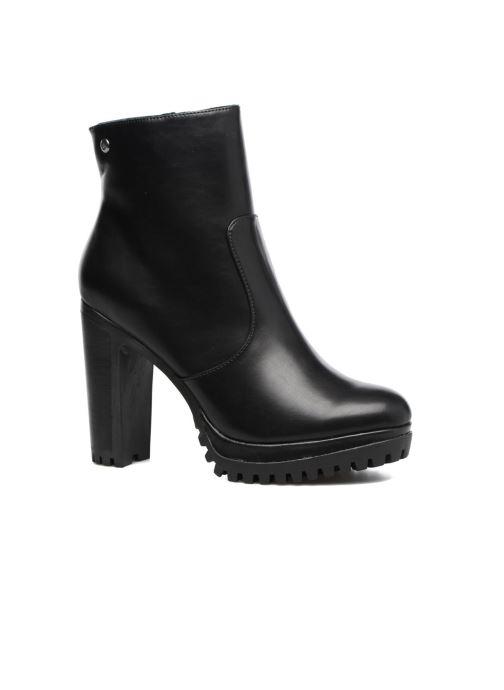 Boots en enkellaarsjes Chattawak Manon Zwart detail
