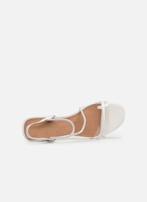 Sandales et nu-pieds Chattawak Marine Blanc vue gauche