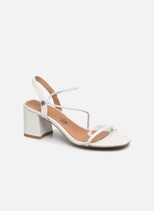 Sandales et nu-pieds Chattawak Marine Blanc vue détail/paire