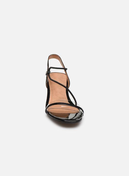 Sandales et nu-pieds Chattawak Marine Noir vue portées chaussures