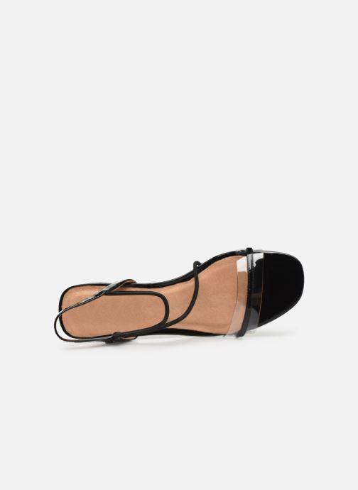 Sandales et nu-pieds Chattawak Marine Noir vue gauche
