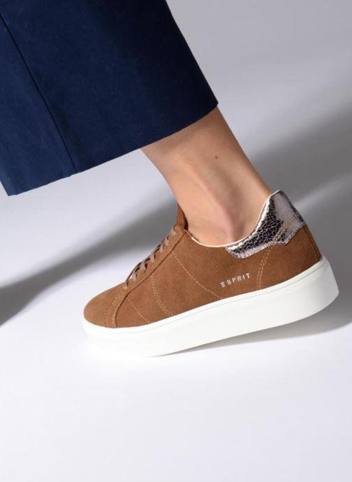 Sneakers Esprit Elda Brun bild från under