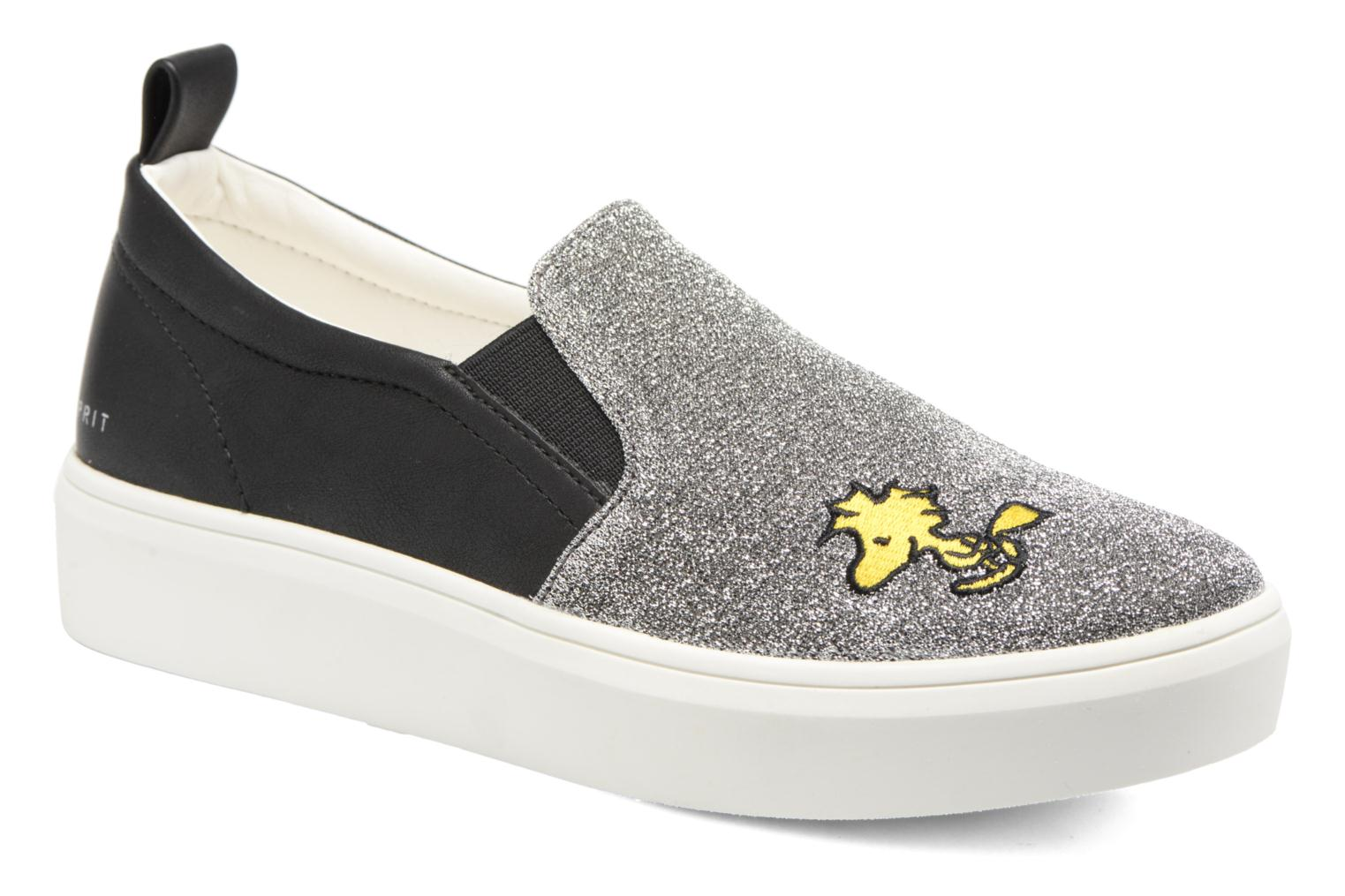 Baskets Esprit Snoopy Elda sleep on Gris vue détail/paire
