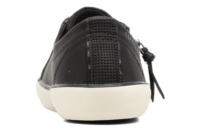 Baskets Esprit Vera zip lou Noir vue droite