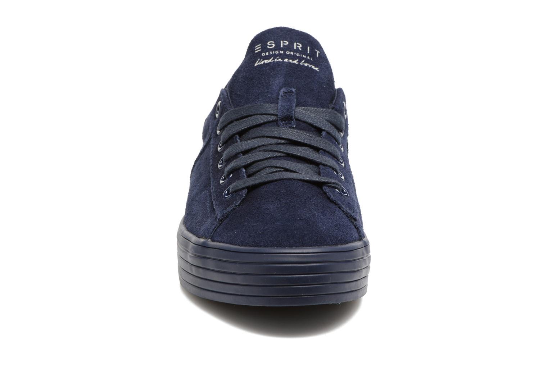 Baskets Esprit Sita lace up Bleu vue portées chaussures