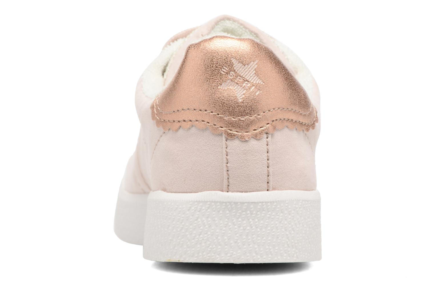 Trainers Esprit Gweneth lou Beige view from the right