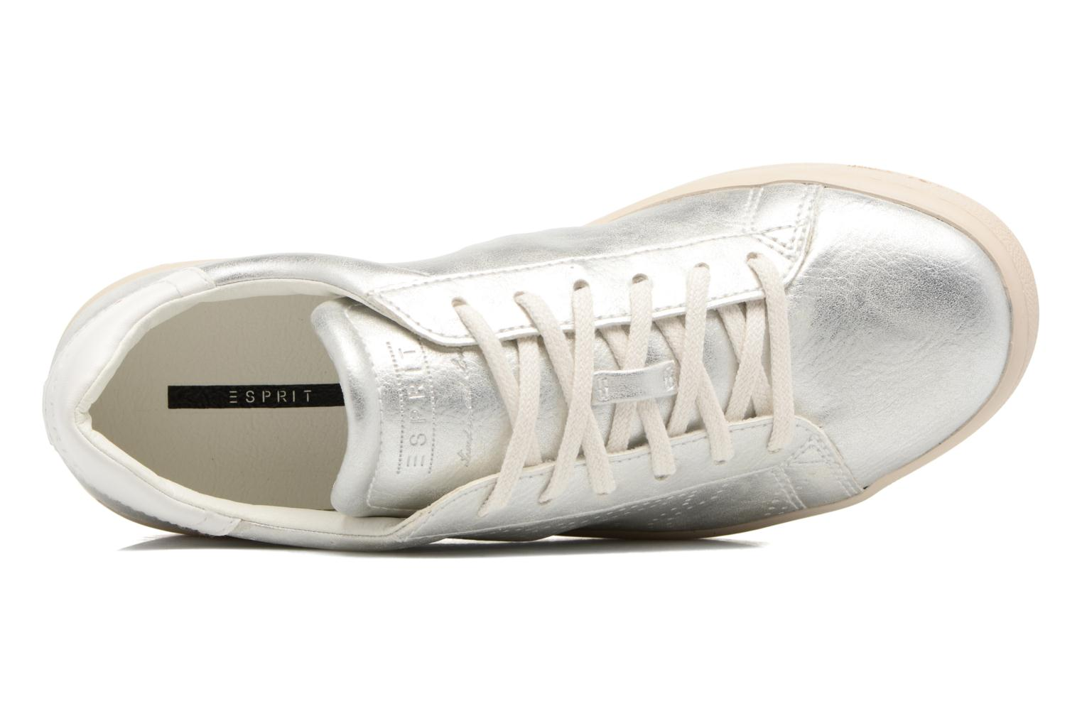 Trainers Esprit Gonda lou Silver view from the left