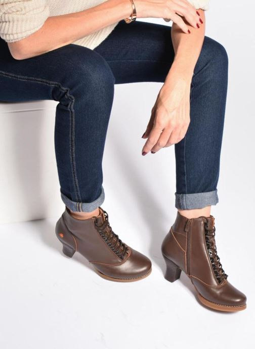 Stiefeletten & Boots Art HARLEM 927 braun ansicht von unten / tasche getragen