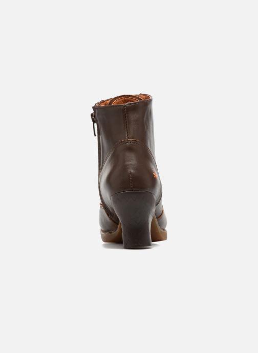 Boots en enkellaarsjes Art HARLEM 927 Bruin rechts