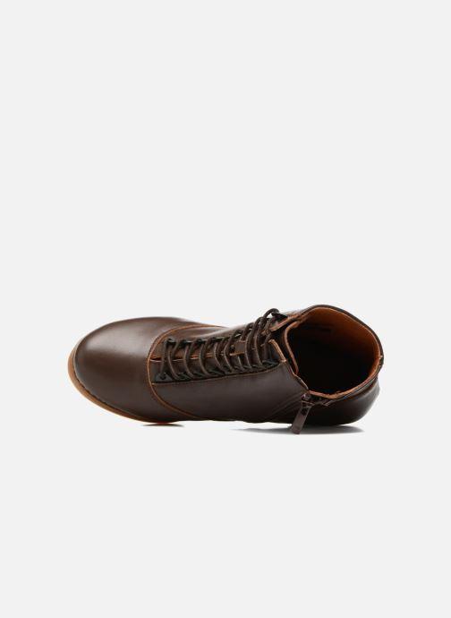 Boots en enkellaarsjes Art HARLEM 927 Bruin links