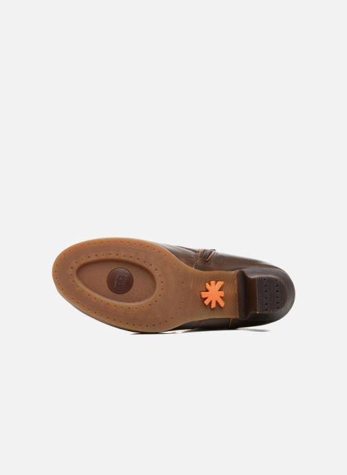 Bottines et boots Art HARLEM 927 Marron vue haut