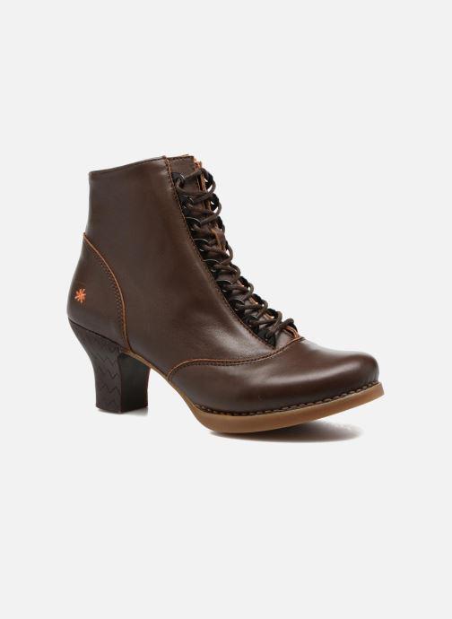 Boots en enkellaarsjes Art HARLEM 927 Bruin detail