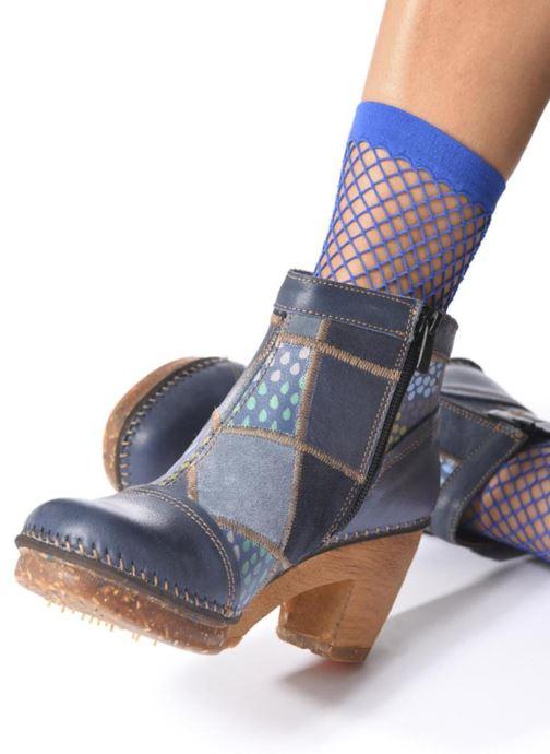 Bottines et boots Art AMSTERDAM 1054 Marron vue bas / vue portée sac