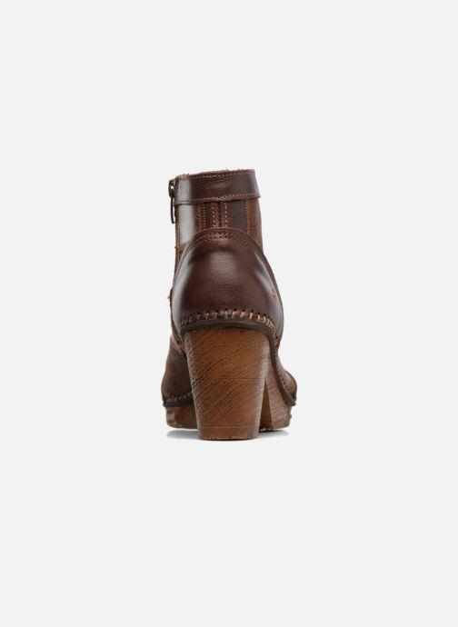Boots en enkellaarsjes Art AMSTERDAM 1054 Bruin rechts
