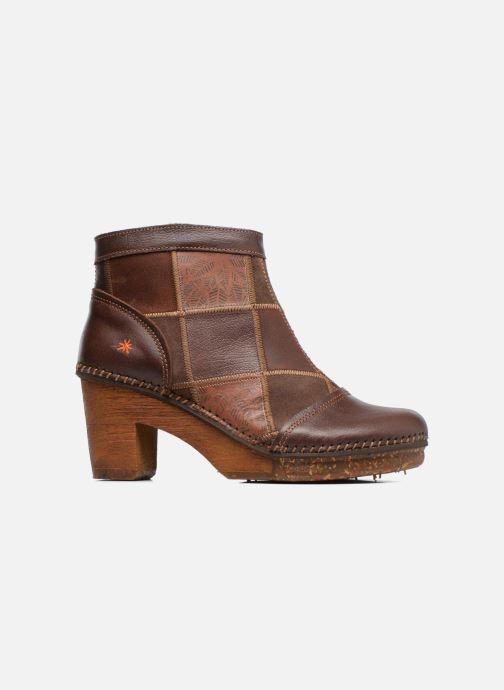 Stiefeletten & Boots Art AMSTERDAM 1054 braun ansicht von hinten