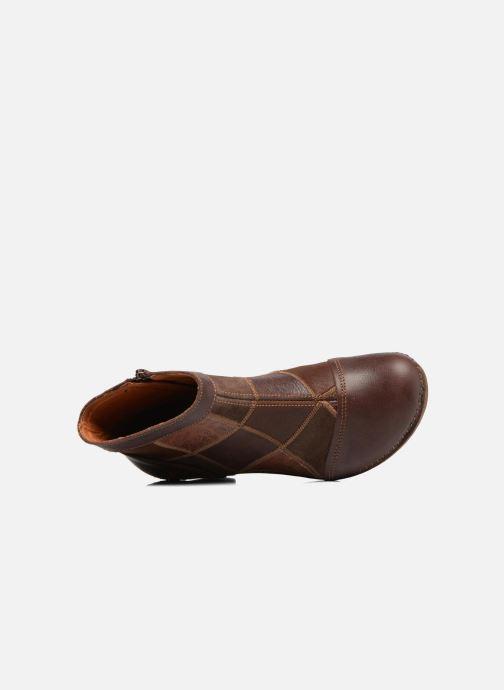 Bottines et boots Art AMSTERDAM 1054 Marron vue gauche