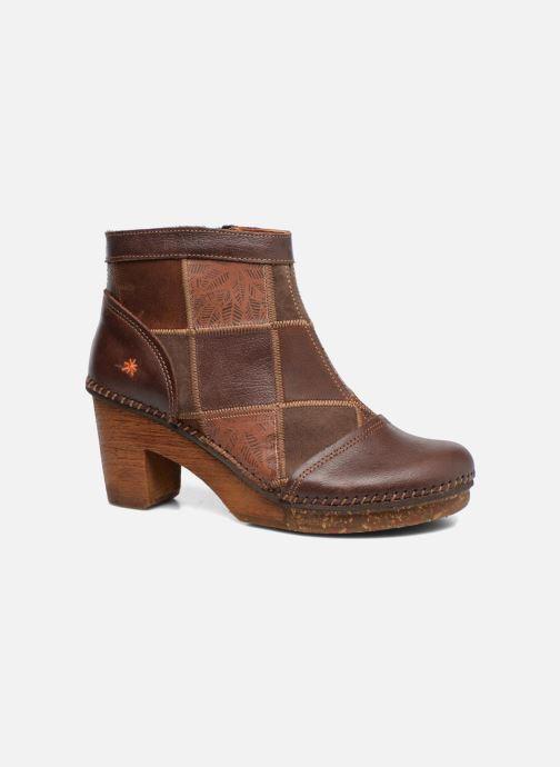 Boots en enkellaarsjes Art AMSTERDAM 1054 Bruin detail