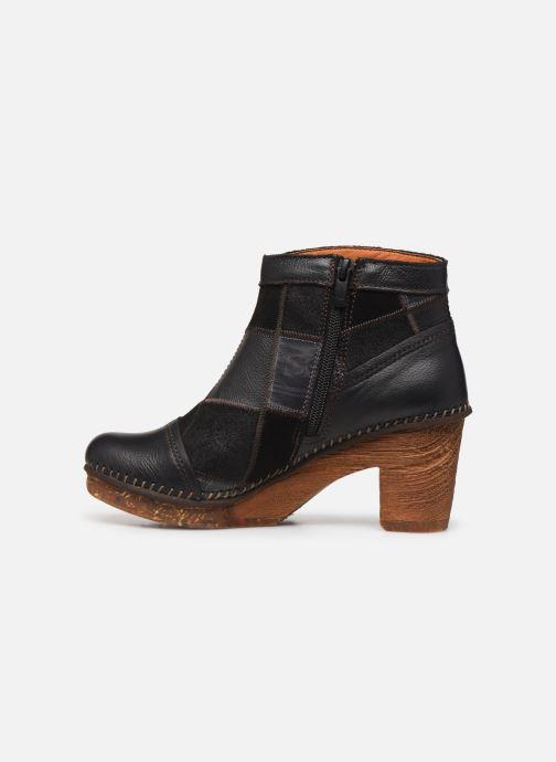 Bottines et boots Art AMSTERDAM 1054 Noir vue face