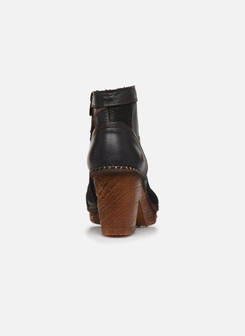Bottines et boots Art AMSTERDAM 1054 Noir vue droite